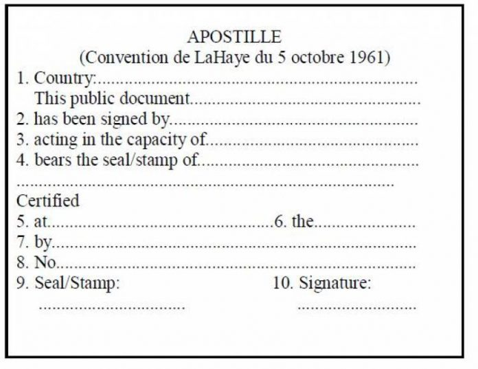 apostil, apostil nedir?, apostil tasdiki nedir?