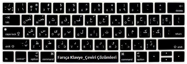 farsça klavye