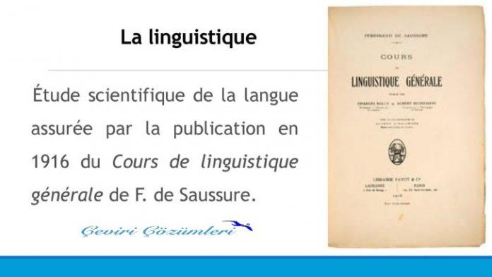 Ferdinand De Saussure kimdir?