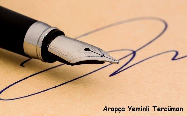 arapça yeminli tercüman